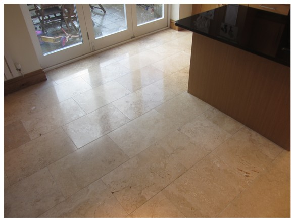 Travertine Tile Repair Cleaning In Stockport